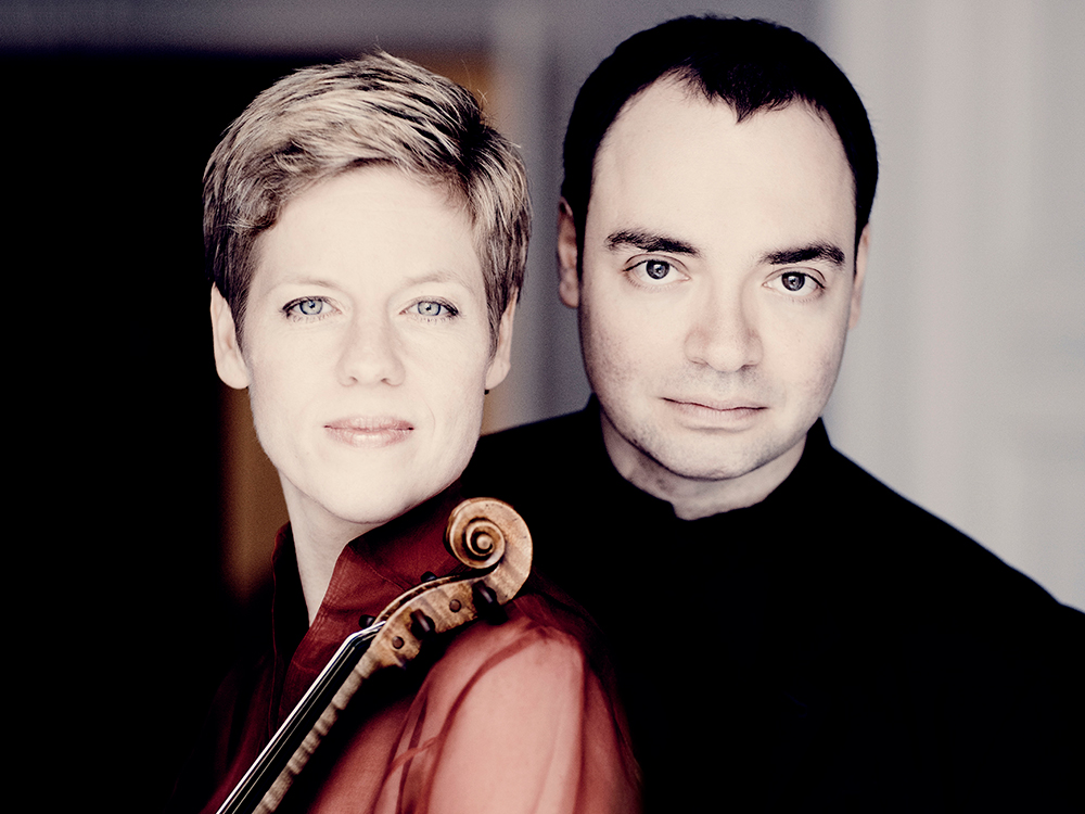 Isabelle Faust and Alexander Melnikov