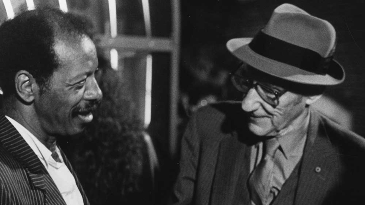 Ornette Coleman and William S. Burroughs