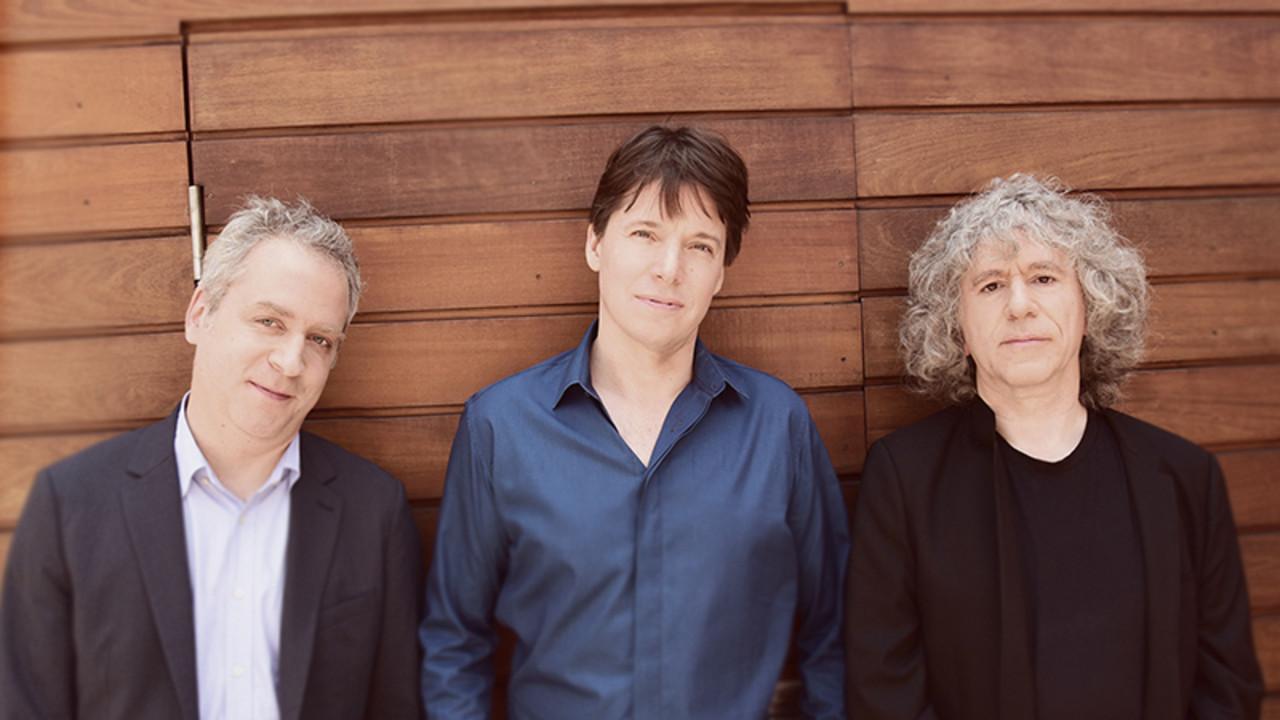 Joshua Bell, violin Steven Isserlis, cello Jeremy Denk, piano