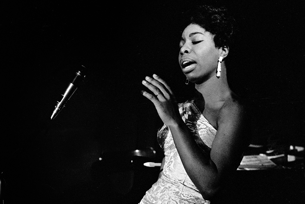 Nina Simone, 1961.