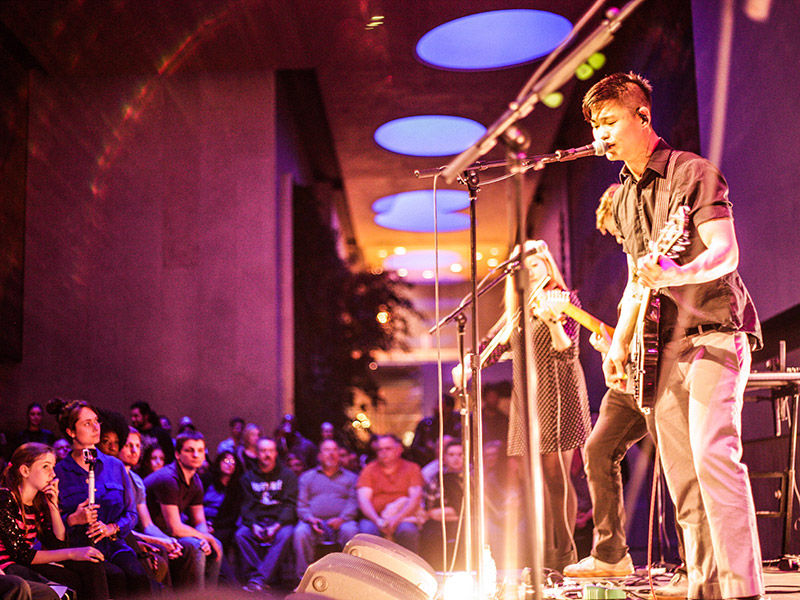 OWEL performs in the David Rubenstein Atrium as part of American Songbook 2015