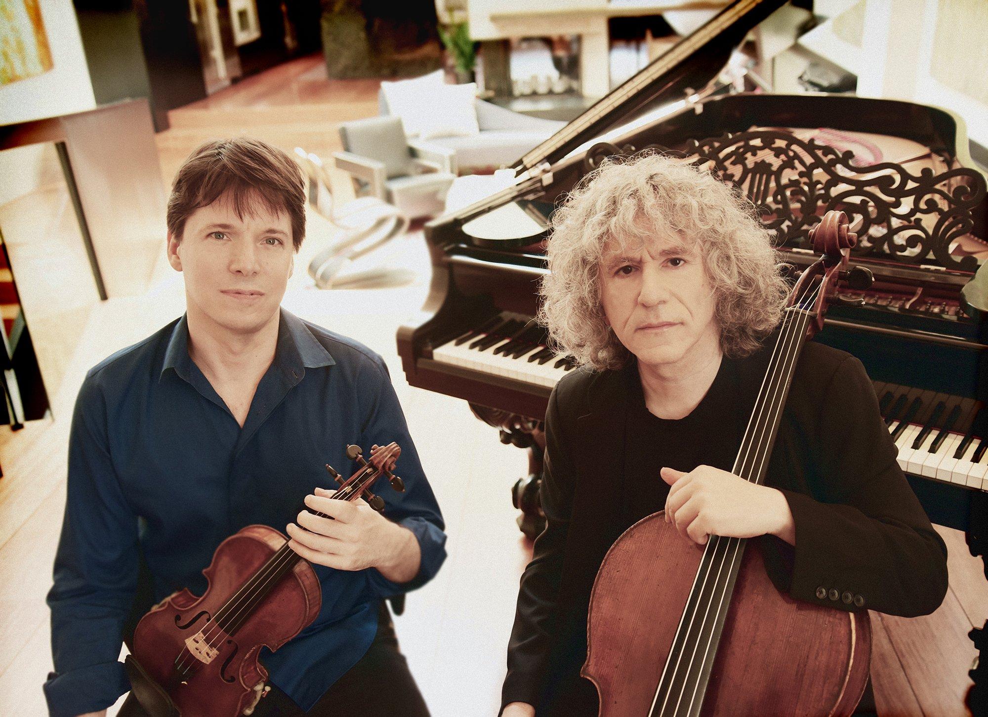 Joshua Bell and Steven Isserlis