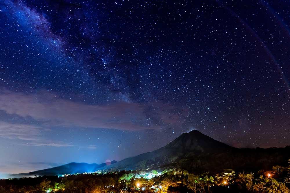 Costa Rica's Arenal Volcano , 2012.