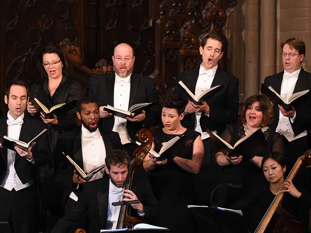 Choir of Trinity Wall Street